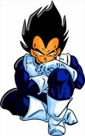 Dragon Ball Z Cartoon Sticker 13x8 Cm. Aprox. - Otros