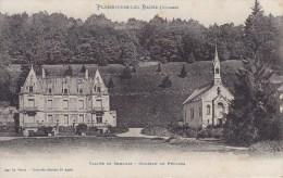 88 PLOMBIERES LES BAINS,VALLEE DE SEMOUSE,CHATEAU DE PRUINES - Plombieres Les Bains