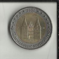 ** 2 EUROS COMMEMORATIVE ALLEMAGNE 2006 Lettre J. PIECE NEUVE **  (2 Scans) - [10] Commémoratives