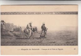 Fuite Vers L'Egypte, Chapelle De Matarieh, Fresque (pk28569) - Egypt