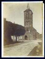 Photo Originale Du 89 Pontaubert église Circa 1910  DEC15 17 - Lieux