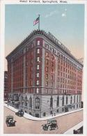 Massachusetts Springfield Hotel Kimball