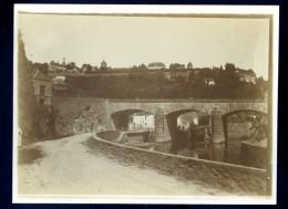 Photo Originale Du 89 Avallon Le Pont   Circa 1910  DEC15 17 - Lieux