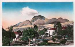 """OTAVALO (Ecuador) - El Imbabura Desde El Parque, Fotokarte 1955, Stempel """"Correos Del Ecuador, Latitud 0-0-0 - Ecuador"""