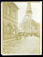 Photo Originale Du 60 Mer L' église Et Le Marché Circa 1910  DEC15 17 - Lieux