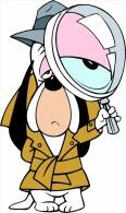 Droopy Dog Cartoon Sticker Decal 13x8 Cm. Aprox. - Pasatiempos Creativos