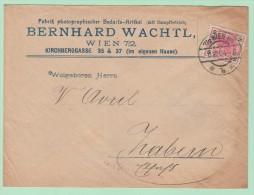 Perf1. Perfin/Perforés.  Photographischer Artikel Mit Dampfetrieb   Wien 6.12.04 - Brieven En Documenten