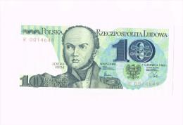 10 Zloty - Jozef Bem - Pologne - Poland - Pologne