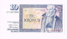 10 Kronur - Sedlabanki Islands- Iceland-Islande - Islande