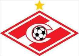 Spartak Moscow FC Russia Soccer Football Sticker 13x8 Cm. Aprox. - Sin Clasificación