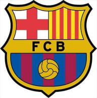 Barcelona FC Spain Barca Soccer Football Sticker 13x13 Cm. Aprox. - Minerales & Fósiles
