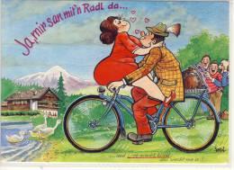 Jux AK - Urlaub In Den Alpen, Sport, Rad Fahren, Cyclisme  Bycicle, Cycling ..., Edit. FratA - Cycling