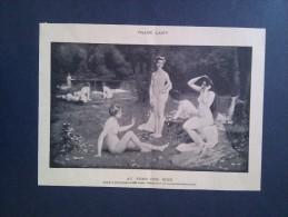Illustration Ancienne AU FOND DES BOIS, NUDITÉ, FRANC LAMY - Other