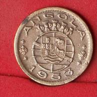 ANGOLA  50  CENTAVOS  1953   KM# 75  -    (Nº13260) - Angola