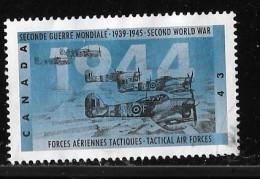 CANADA, 1994, USED # 1539,  SECOND WORLD WAR---1944,   TACTICAL AIR FORCES - 1952-.... Règne D'Elizabeth II