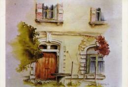 Barbaste  - 7e Concours De Peinture Dans La Rue -Organisé Par Le Syndicat D'initiative De Barbaste -Oeuvre De S. Veillon - France