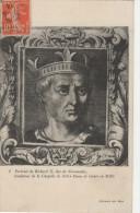 Cpa Portrait De Richard II, Duc De Normandie - Uomini Politici E Militari