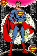 1984 DC Comics Superman Unused Postcard - Cómics