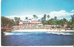 Water-skiing View Of The Breathtaking Water Spectacle At Cypress Gardens, Florida - Ski Nautique
