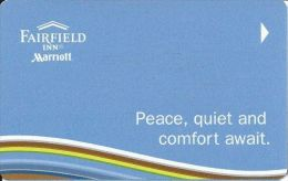 Fairfield Inn & Suites - Hotel Room Key Card - Hotel Keycards