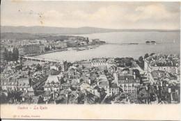 GENEVE - SUISSE -   Une Vue De La Rade - VAN - - GE Geneva