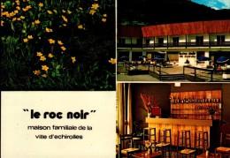 """05-VILLENEUVE LA SALLE..MAISON FAMILIALE DE LA VILLE D'ECHIROLLES """"LE ROC NOIR""""..3 VUES..CPM - Other Municipalities"""