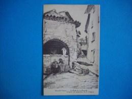 SOLLIES VILLE  -  83  -  Le Puits De La Placette  -  D´après Les Aquarelles De FREMONT  -  Var - Sollies Pont