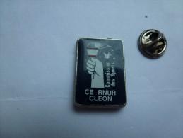 Auto Renault ,  CE RNUR Cléon , Commission Des Sports , Flamme Olympique , JO - Renault
