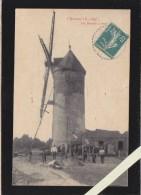 Chauvé - Un Moulin à Vent , Travaux Au Pied Du Moulin - Voir état - France