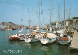 Postcard - Weymouth Harbour & Lifeboat, Dorset. 2-54-08-08 - Weymouth