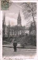 LYON « Jardin Des Plantes - Eglise Et Caserne Du Bon-Pasteur » - Ed. H. B. & Cie, Lyon (1908) - Lyon
