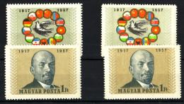 1957. Great October Socialist Revolution (IV.) :) - Unused Stamps