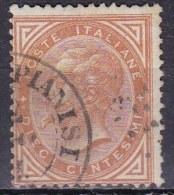 Regno D'Italia, 1863 - 10c Serie De La Rue O Effige Di Vittorio Emanuele II - Nr.17T Usato° - 1861-78 Vittorio Emanuele II