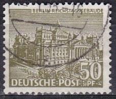 Berlin, 1949 - 50pf Reichstag Building - Nr.9N53 Usato° - Oblitérés