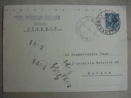 Cartolina OLEGGIO NOTAIO BORRONI CESARE Viaggiata - Andere Städte