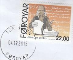 Isole Faroer 2015 - Lettera X L´Italia Affrancata Con 1 Valore - Féroé (Iles)