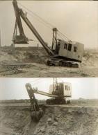 Lot De 3 Photos D'engins De Génie Civil ORENSTEIN & KOPPEL (avant-guerre) - Vieux Papiers