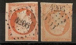 PC 4206 HAMBERY Savoie Sur Deux 40C. - 1849-1876: Période Classique