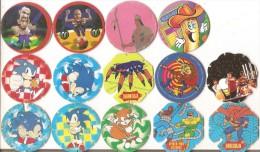 Lot 16 Pogs Divers-bn-harrys-konica-panini-west--pimousse - Altri