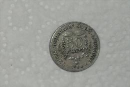 50 Francs / Monnaie Ouest Africain De 1984 En TTB - Centrafricaine (République)