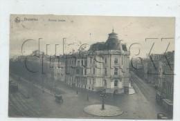 Bruxelles (Belgique, Bruxelles) : Vue Générale Avec PP De Tramway De L'avenue Louise En 1912 (animé) PF. - Corsi