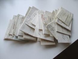 Vorphila Europa 47 Belege Frühes 19. Jhd. Italien, England, Schweiz, Spanien U. Niederlande. Alte VK Auszeichnung 1900€ - Briefmarken