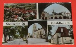 47 - Souvenir De Castillonnes :: Carte Multi Vues    ------ 333 - France