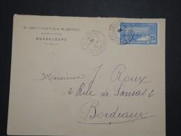 FRANCE - GUADELOUPE - Enveloppe De Pointe à Pitre Pour Bordeaux 192..- A Voir - Lot P14566 - Lettres & Documents