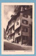 BASEL, ALT BASEL, RHEINSPRUNG, Zum Sonnenfroh - BS Bâle-Ville