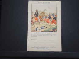 FRANCE - Carte En FM Illustrée Non Voyagée - 3ème Régiment De Zouaves - A Voir - Lot P14578 - Marcophilie (Lettres)
