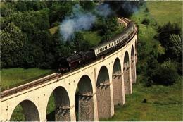 Sncf-chemin De Fer: La 141 R 420  Sur Le Viaduc Des Fauries Luc La Croix Haute  Train Spécial 5/7/92 -très Rare - Luc-en-Diois