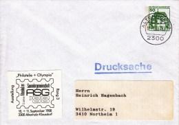 PU 113/4  Blanko Umschlag Mit 50 Pf Burgen Und Schlösser, Alteenholz - BRD