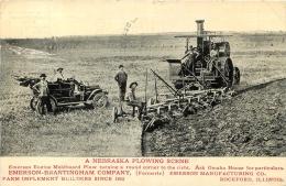 A NEBRASKA PLOWING SCENE EMERSON BRANTINGHAM COMPANY - Pubblicitari
