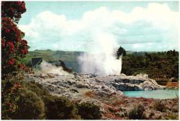 Nieuw Zeeland/New Zealand, Pohutu Geyser Panorama, 1975 - Nieuw-Zeeland